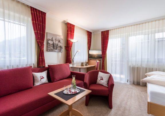 Doppelzimmer Typ A im Hotel Glockenstuhl in Westendorf
