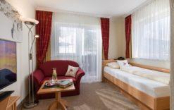 Einzelzimmer im Hotel Glockenstuhl in Westendorf
