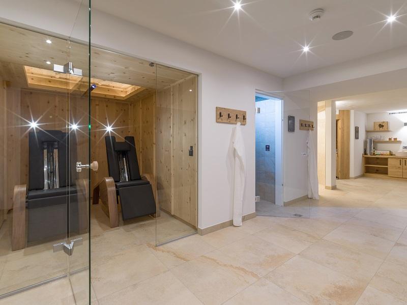 Saunabereich Hotel Glockenstuhl in Westendorf
